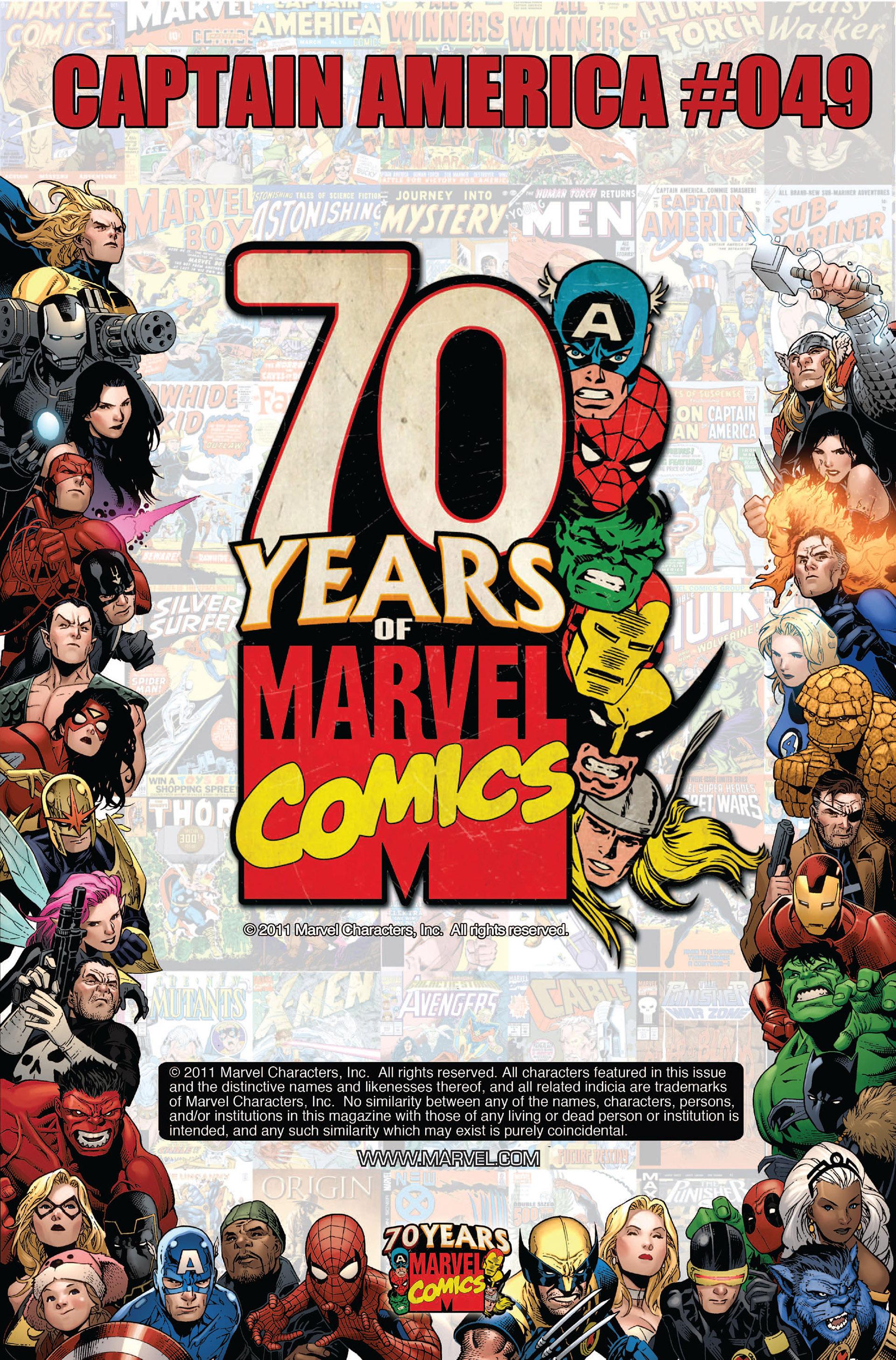 Read online Captain America (2005) comic -  Issue #49 - 2