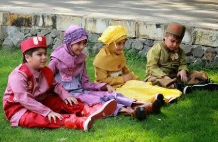 Baju muslim Anak dannis yang trendy