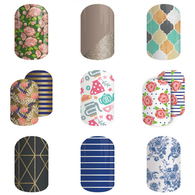 Jamberry Nail Wrap Favourites