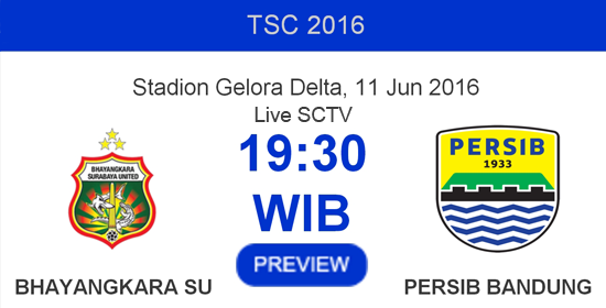 Bhayangkara Surabaya United vs Persib