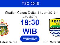 TSC 2016: Bhayangkara Surabaya United vs Persib