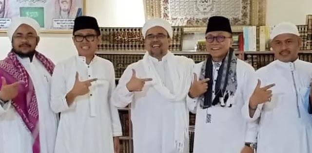 Habib Rizieq Doakan Kemenangan 212, 02 Capresnya Dan 12 Partainya