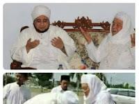 Betapa Tawadhu'nya Romo yai Idris Marzuki Lirboyo dan Habib Munzir Al Musawa