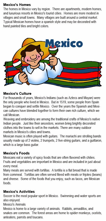 All about Mexico for kids