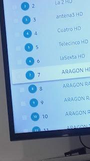 Fijar CanalesTV Samsung UE40 MU 6105 K