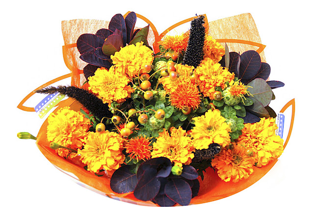 Sun Valley Marigolds for Day of the Dead