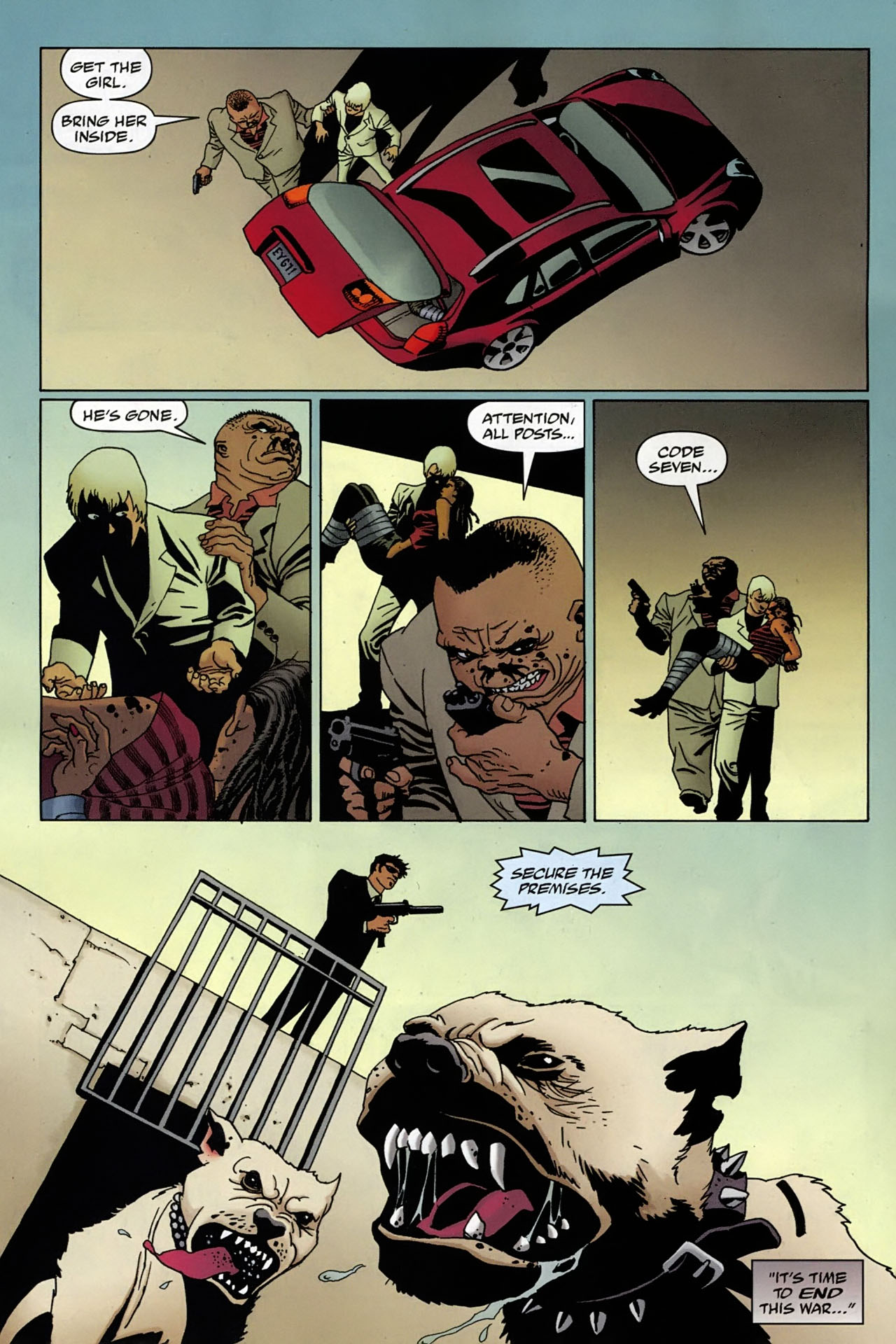 Read online 100 Bullets comic -  Issue #97 - 10
