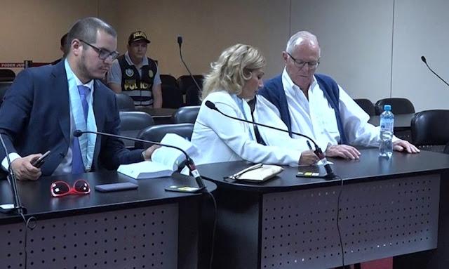Kuczynski pasó por control de identidad en el PJ y retornó a Prefectura de Lima