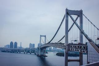 Toll road briege near Tokyo