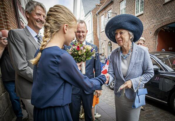 Danish Princess Benedikte attended the opening of Jacob A. Riis Museum in Ribe city of Southwest Jutland. journalists and social reformers