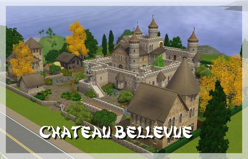 my sims 3 blog chateau bellevue by dom. Black Bedroom Furniture Sets. Home Design Ideas