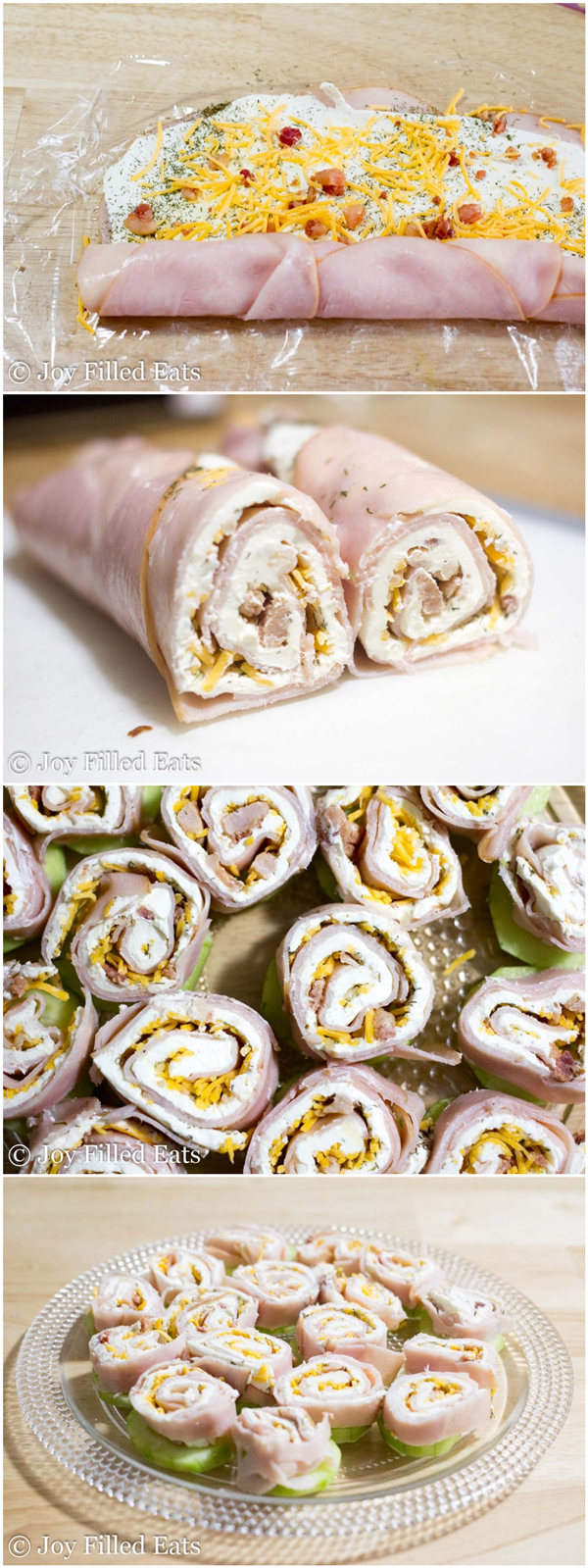 Turkey Bacon Ranch Pinwheels