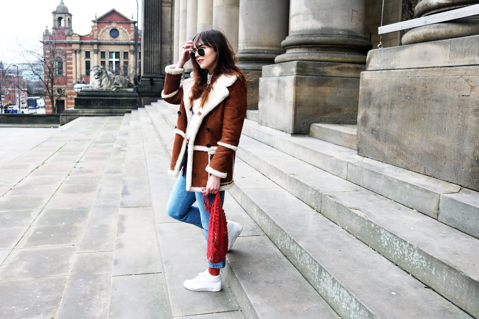 topshop winter coat