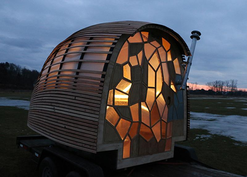 Tiny Houses Have Become A Por Form Of Architectural Experimentation Lately And Even Amid This Creativity New Design Out Green Mountain College In