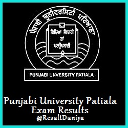 Punjabi University Patiala Results