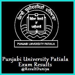 Punjabi University Patiala Results