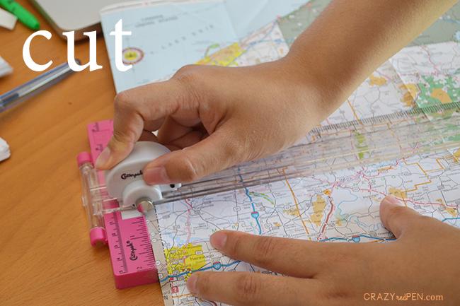 Travel Journal Cut Step