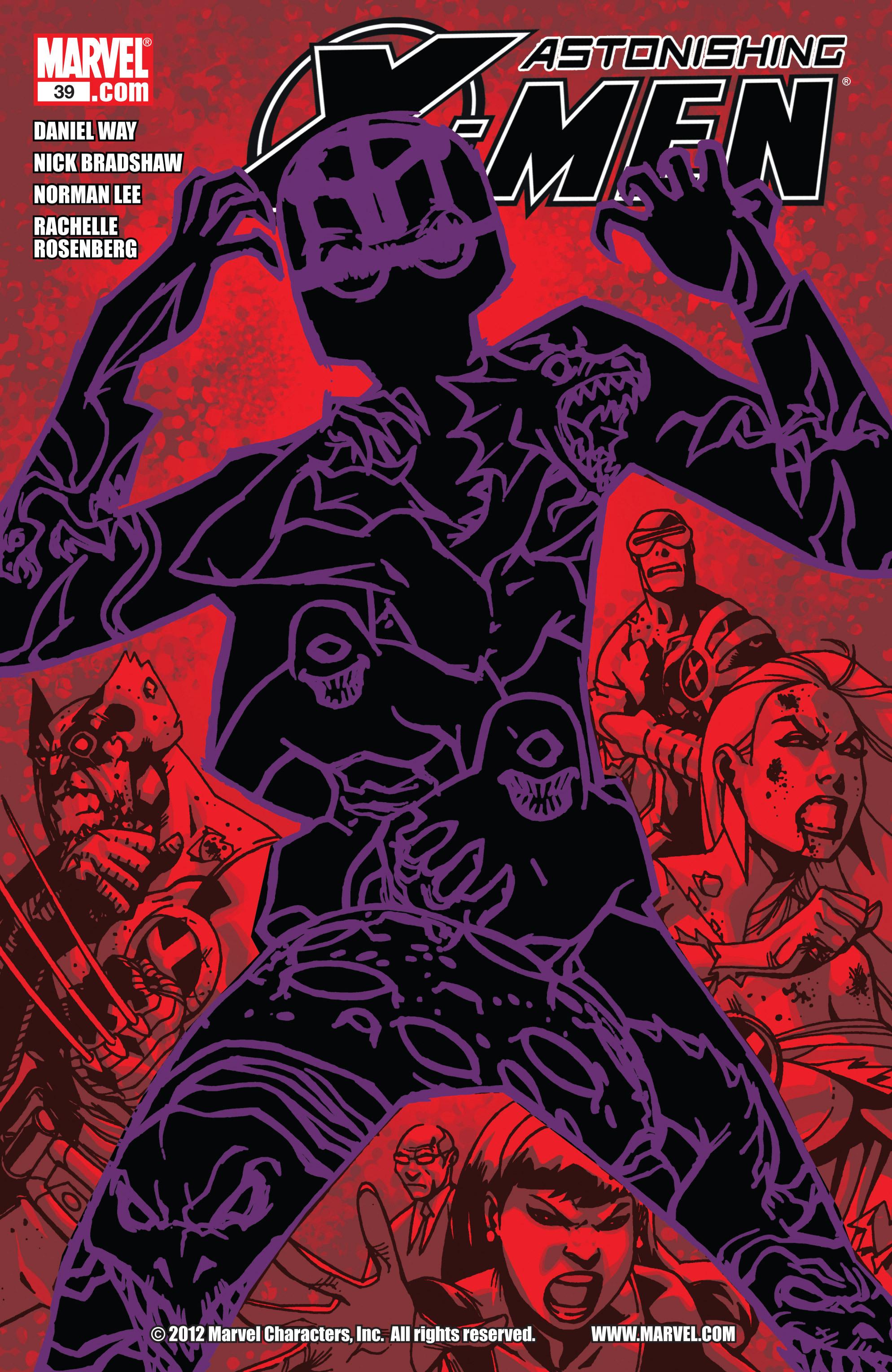 Read online Astonishing X-Men (2004) comic -  Issue #39 - 1