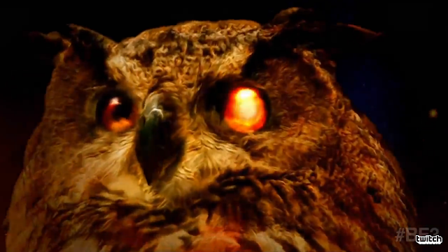 The Elder Scrolls Legend owl card game weird eye
