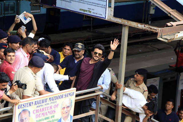 Anil Kapoor In Local Train