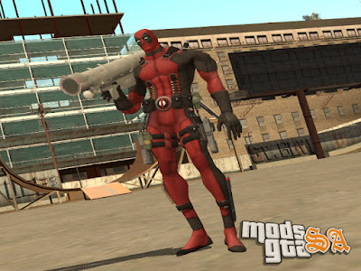 Skin Deadpool para GTA San Andreas