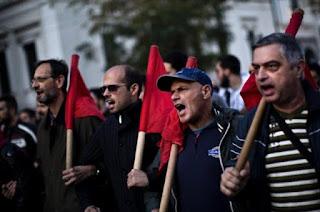 Grecia: Cuatro huelgas generales en cinco meses
