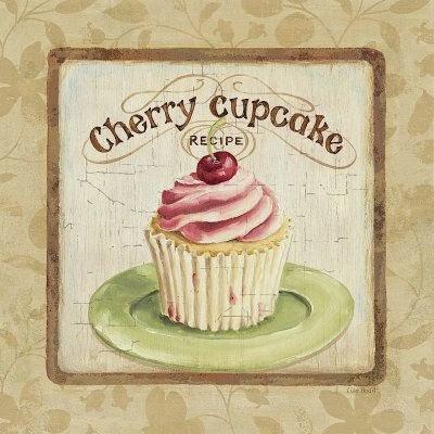 Retro Cupcake Posters.