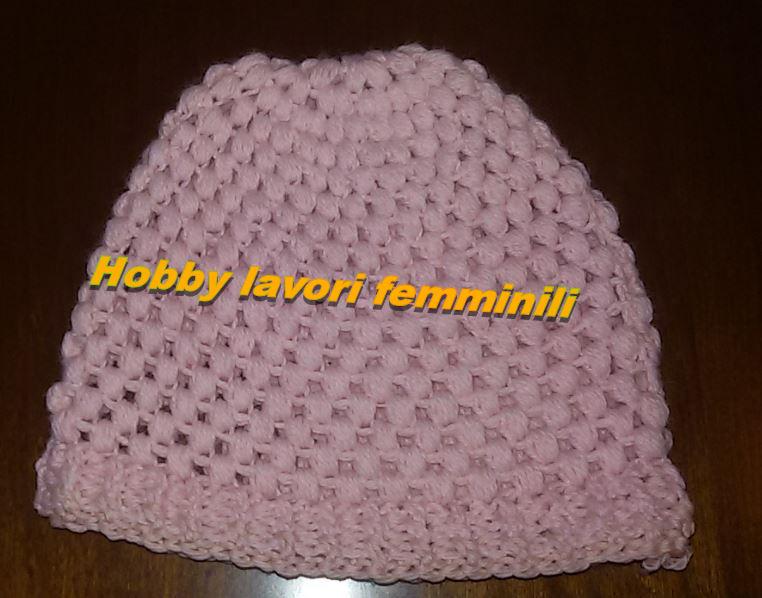 Hobby Lavori Femminili Ricamo Uncinetto Maglia Cappello