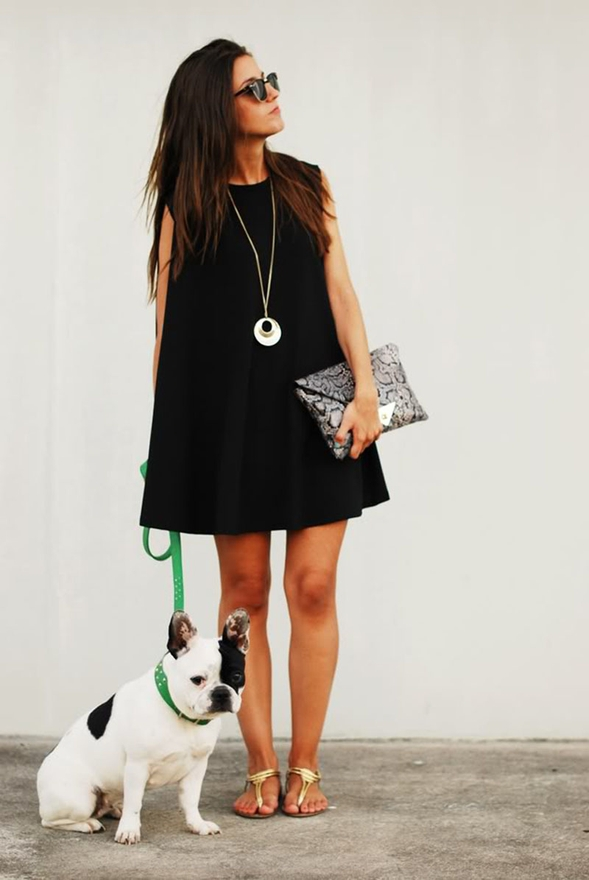 WEAR DARKER COLOURS - Fashion Tips For Short Girls