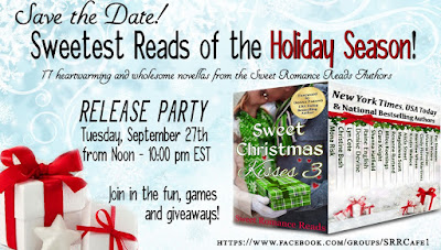 Sweet Christmas Kisses 3 release party graphic