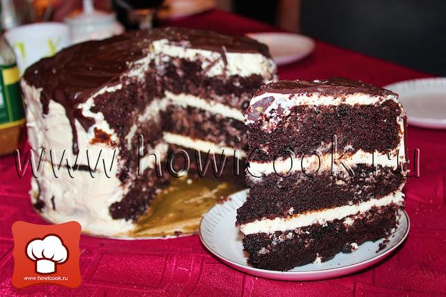 рецепт торт темный ларри