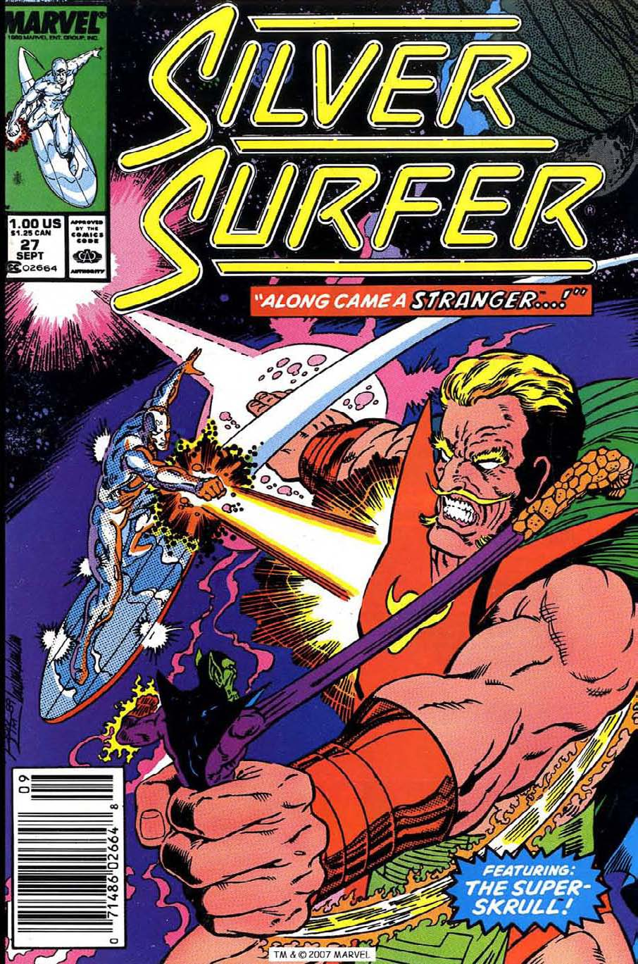 Read online Silver Surfer (1987) comic -  Issue #27 - 1