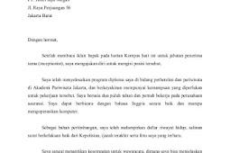Contoh Surat