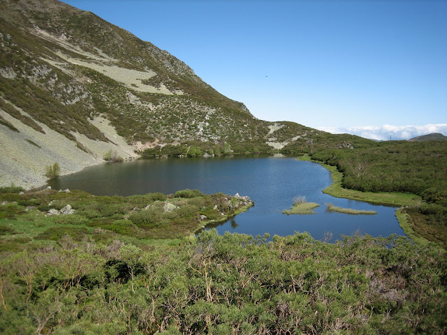 Rutas Montaña Asturias: Laguna Arbás, subiendo al Cueto Arbás