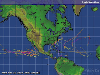 Resumen temporada de huracanes 2016