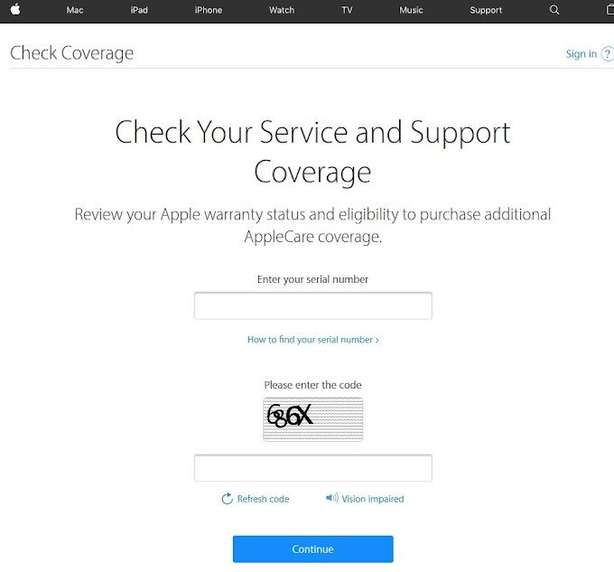 Kiểm tra tình trạng iPhone trên Apple khi mua máy mới