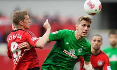 Bayer Leverkusen empata 1 a 1 contra Werder Bremen