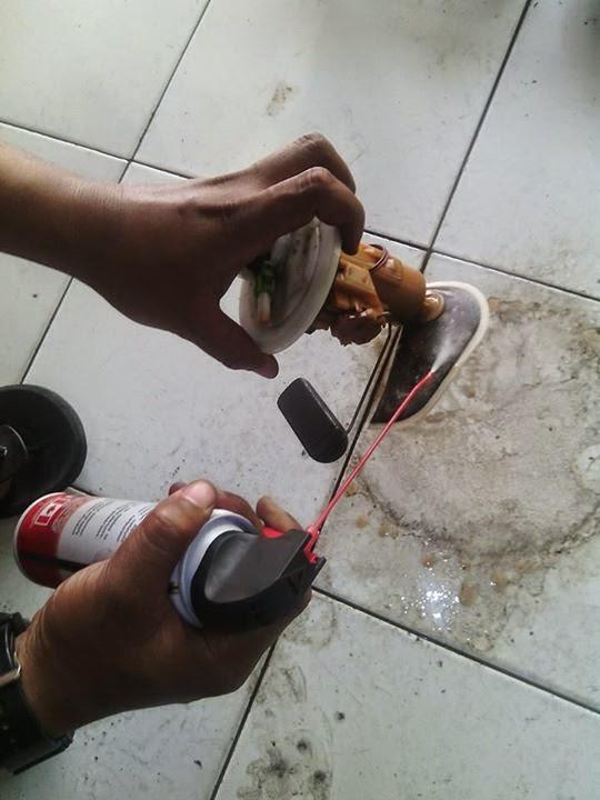 saringan pompa injeksi