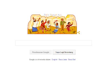 Google Doodle Hari Ini Peringati Hari Sumpah Pemuda