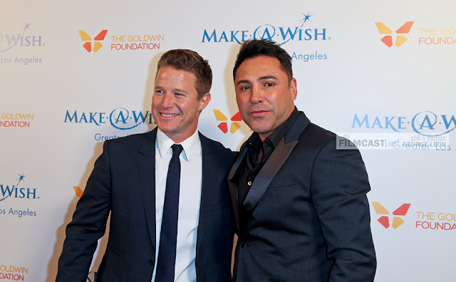 Billy Bush, Oscar De La Hoya, © George Leon still and motion photo