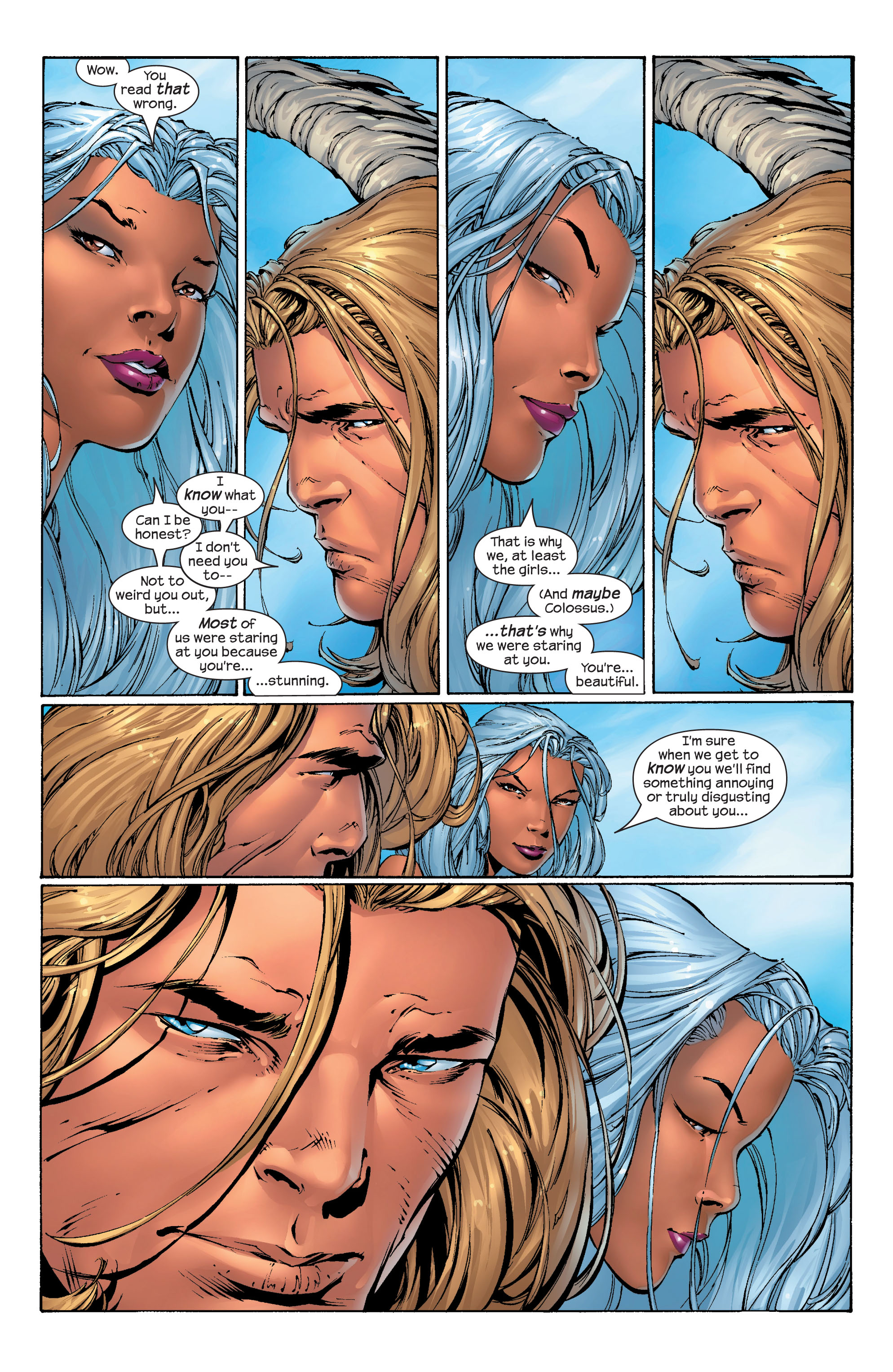 Read online Ultimate X-Men comic -  Issue #40 - 14