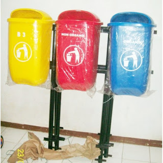 harga tempat sampah fiber