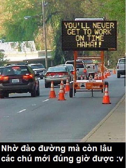 Thông báo hài hước