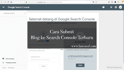 Cara Submit Blog ke Search Console Terbaru