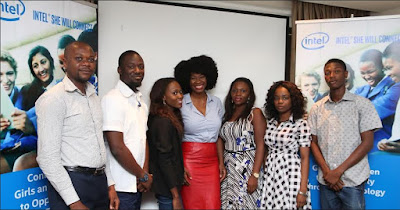 Nigerian bloggers hosted by Intel