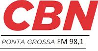 Rádio CBN FM 98,1 de Ponta Grossa PR