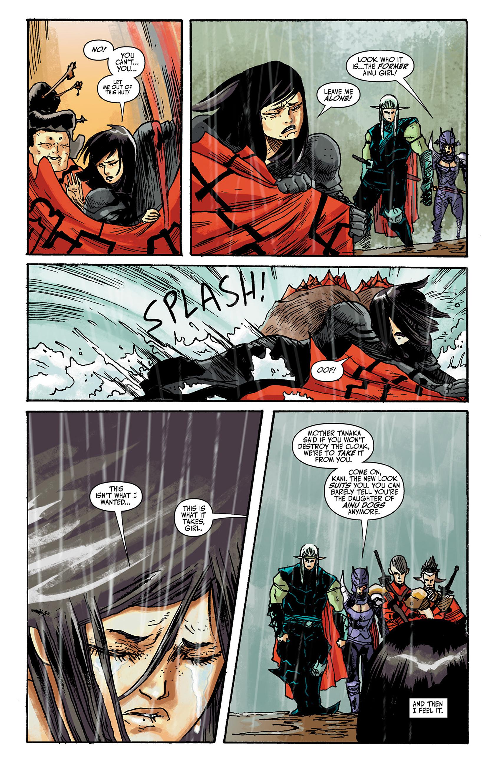 Read online Akaneiro comic -  Issue #2 - 21