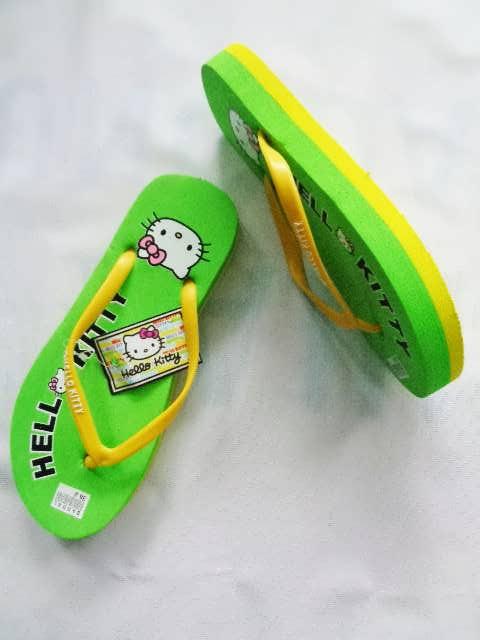 Wedges Wanita - Sandal HK Tebal Sedang OTG