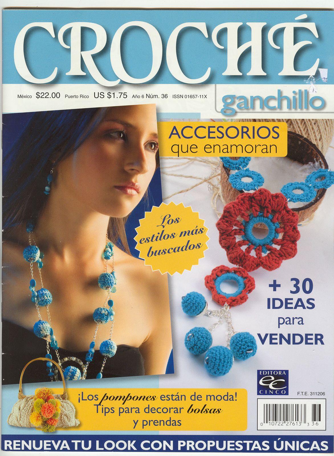 Revista Accesorios de Bisuteria Patrones
