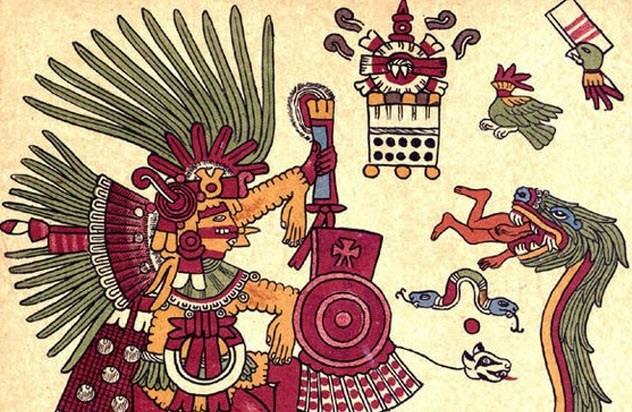 pengorbanan nyawa untuk dewa suku aztec